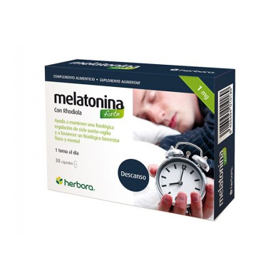 Melatonina forte 30 caps