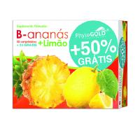 B-ananás + Limão 60 comp + 30 comp grátis