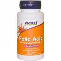 ACIDO FOLICO 800MCG 250 COMP NOW