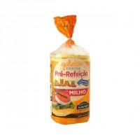 Galetes de Milho Finíssimas Pré-Refeição Sem Sal Salutem