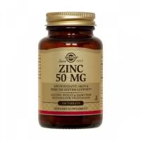 Gluconato Zinco 50 mg 100 Cápsulas Solgar