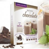 Batido de Chocolate - Substituto de refeiçao 3x35g Clinica do Peso