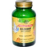 S.F.P. Bilberry Extract 60 Veg. Caps