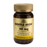 Gentle Iron (Bisglicinato Ferroso) 20mg 90 caps Solgar