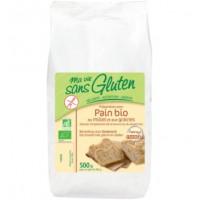 Prep. pão Millet e Sementes 500gr MA Vie Sans Gluten
