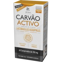 Carvão Vegetal Activo 40 comp
