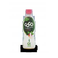 Agua de coco Bio cáverde pêssego