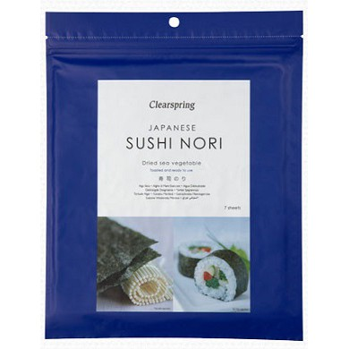 Alga marinha sushi nori - Clearspring
