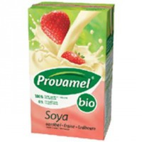 Bebida soja 250ml biológica morango