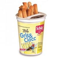 Schar milly grissinos+cre.Cacau s/ glúten 52gr