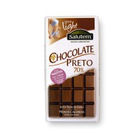 Chocolate preto 70% s/ açúcar