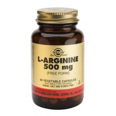 L-Arginina 500mg 50 caps