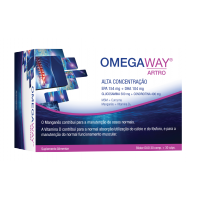 OmegaWay Artro Duo Pack 60comp+60caps