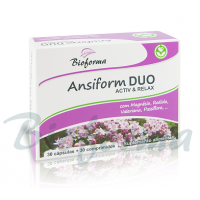 Ansiform DUO Activ e Relax 30 caps+30 comp