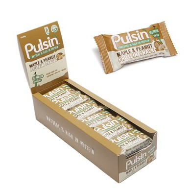 Barras Maple Peanut Protein 50gr - Pulsin